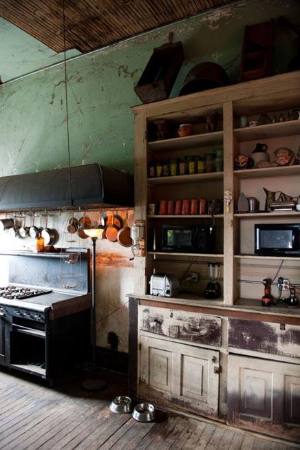 Oude keuken en zijn charmes inrichting - Keuken in het oude huis ...