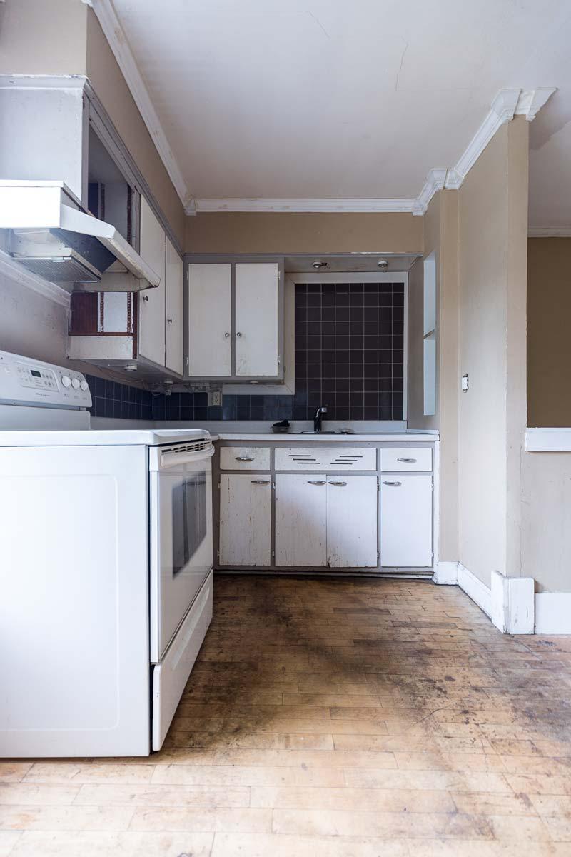 Oude keuken verbouwing