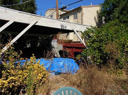 Oude onverzorgde tuin opgeknapt