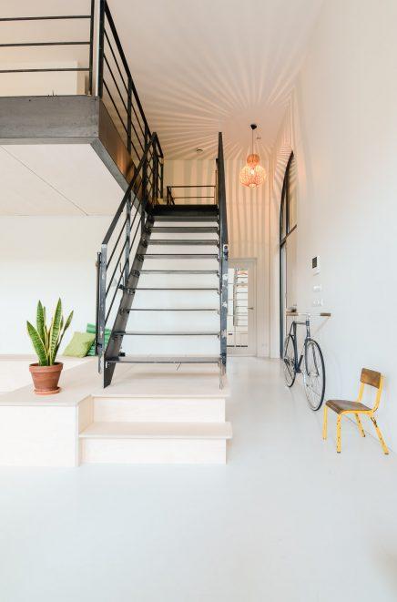 Oude school tot appartement voor jong gezin inrichting for Appartement design 100m2