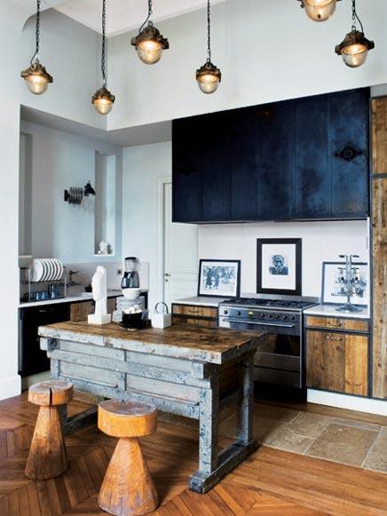 Oude w l charmante keuken inrichting - Keuken in het oude huis ...