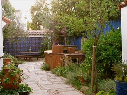 Outdoor keuken in West Hollywood