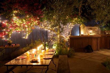 Outdoor keuken in West Hollywood