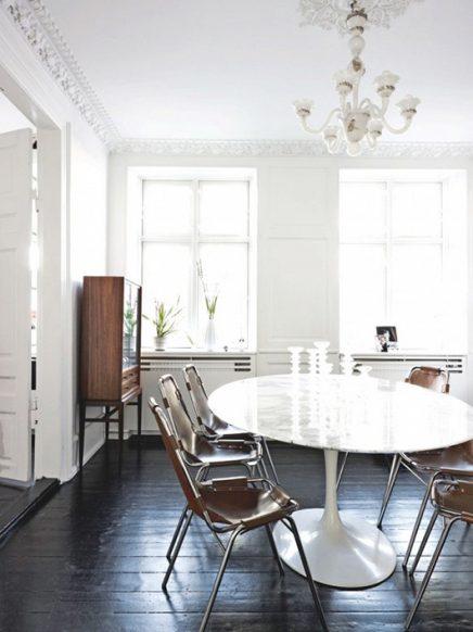 Ovale eettafel  Inrichting-huis.com