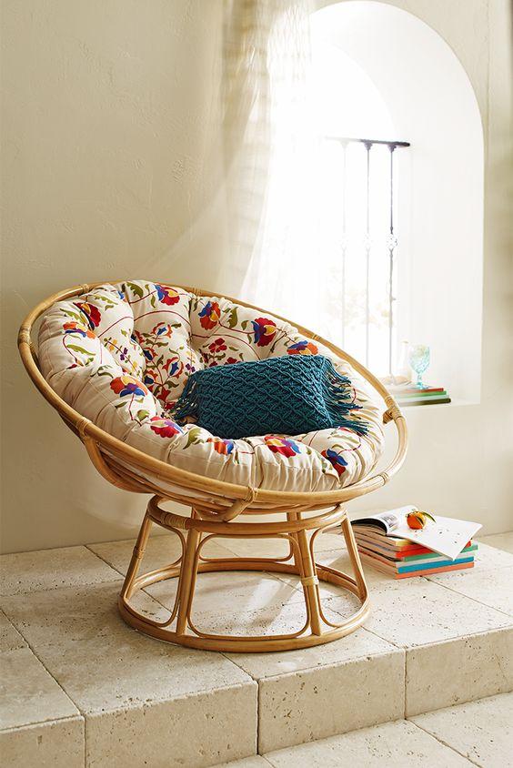 Papasan stoel