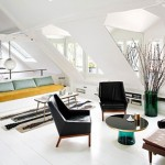 Parisien house with a vintage interior