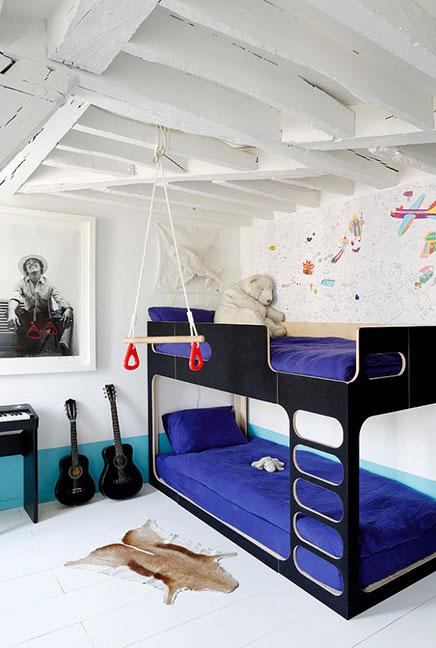 Parisien woning met een vintage interieur