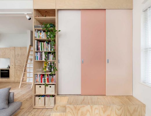 pastelroze deuren