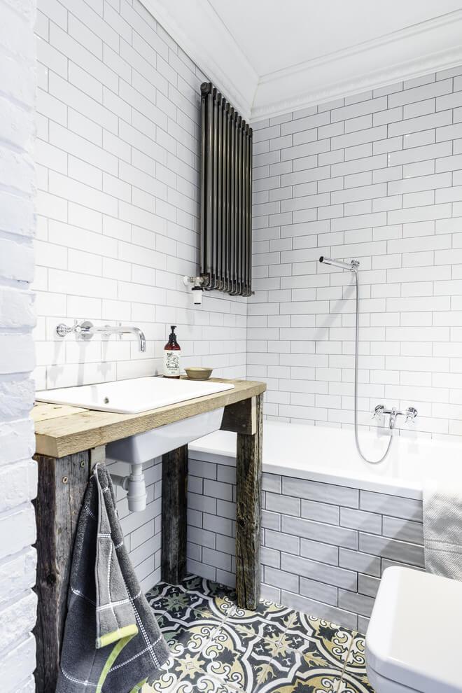 Geweldige inspiratie voor de inrichting van een kleine badkamer ...