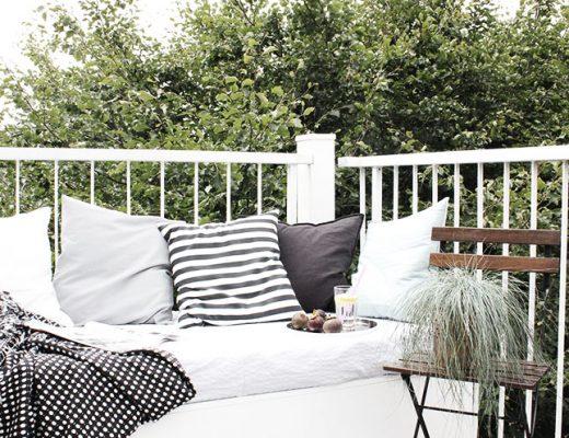 Het perfecte balkon van Karina