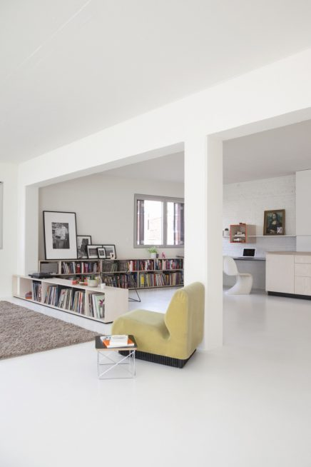 Perfecte combinatie van woonkamer, werkplek en keuken | Inrichting ...