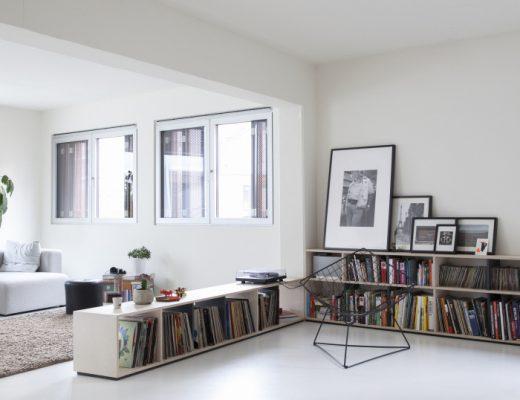 De perfecte combinatie van woonkamer, werkplek en keuken