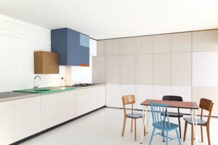 Werkplek Keuken Inrichten : Perfecte combinatie van woonkamer werkplek en keuken inrichting