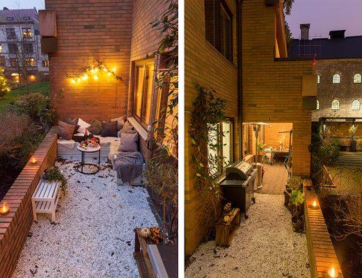 Perfecte kleine tuin voor gezellige zomeravonden