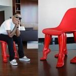 Stoel 'Perspective' van Pharrel Williams