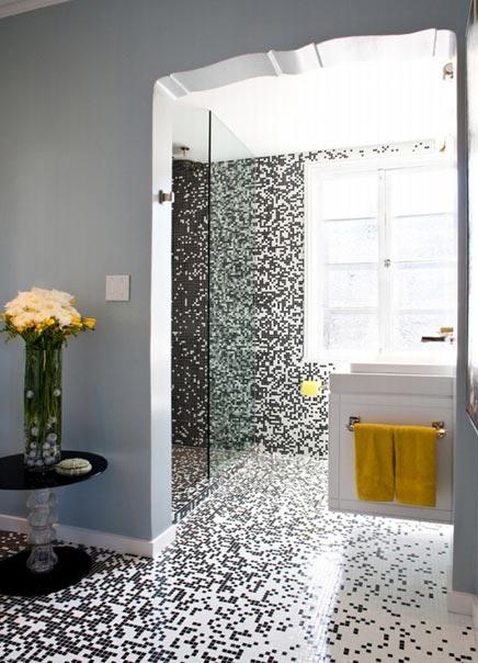 20170405&193318_Witte Mozaiek Badkamer ~ Pixel badkamer  Inrichting huis com