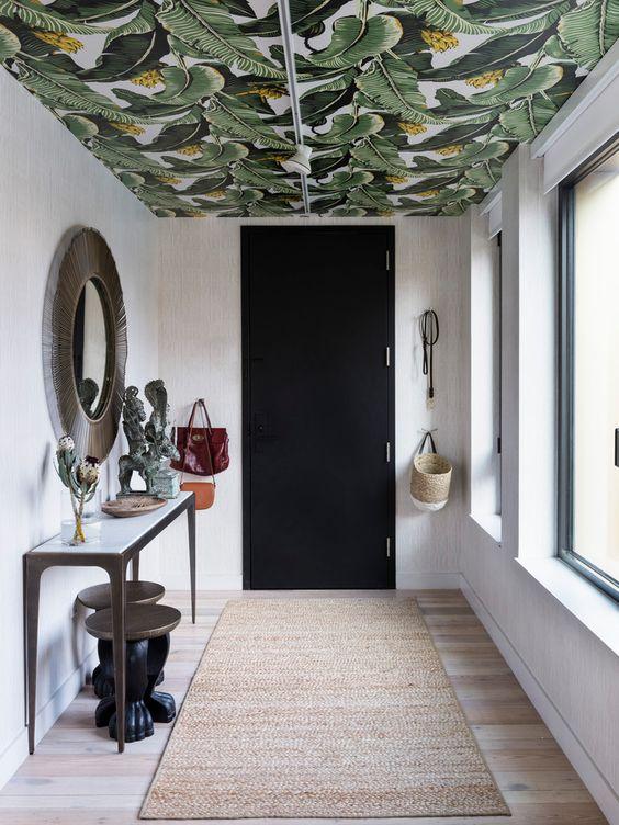 Plafond behangen