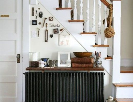 Plank op radiator