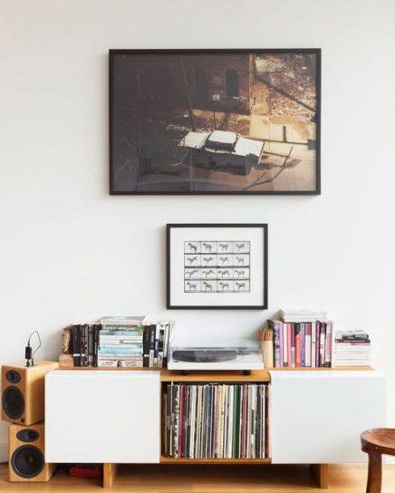 Platenspeler als decoratie inrichting for Interieur decoratie artikelen