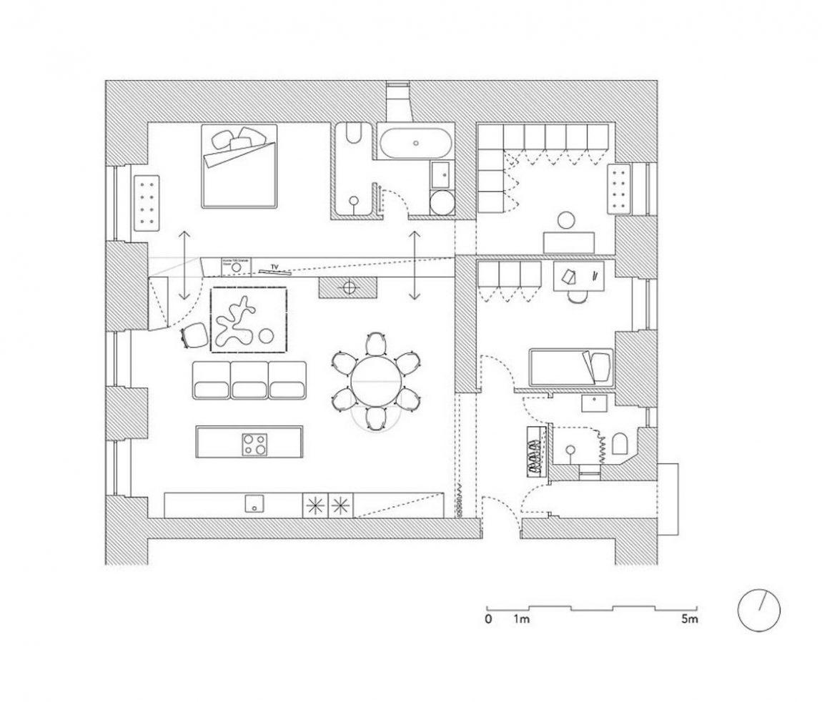 Praktische indeling plattegrond