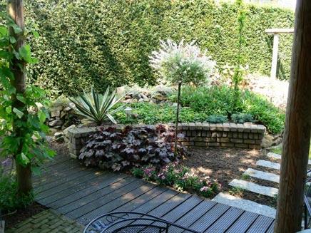 Prieel tuin in Haalderen