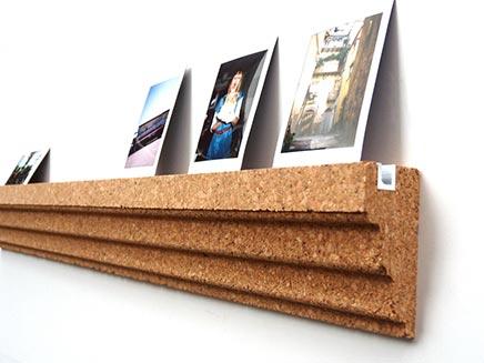 Prikbord foto wandplank