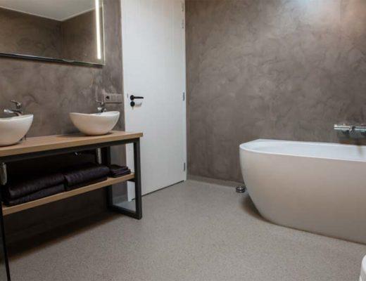 pvc vloer in badkamer