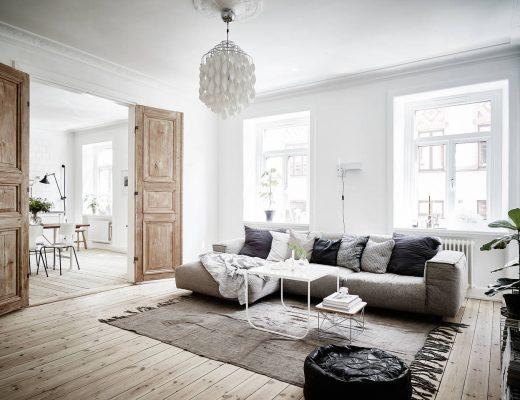 Renovatie appartement met behoud van originele details