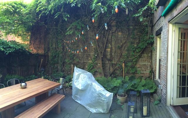 Renovatie Smalle Tuin : Renovatie van een onbenutte tuin inrichting huis