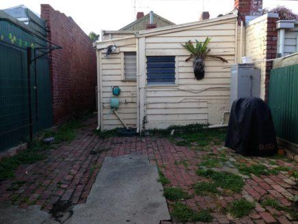 Renovatie van een smalle tuin