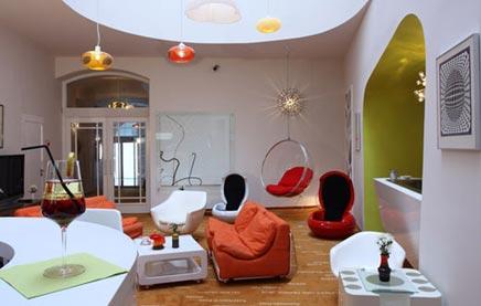 Retro interieur idee n inrichting for Huis interieur ideeen