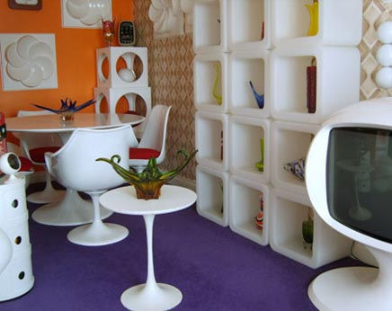 Retro interieur idee n inrichting for Interieur 80 s