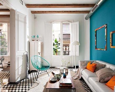 Retro Inrichting Huis.Retro Vintage Woninginrichting In Barcelona Inrichting
