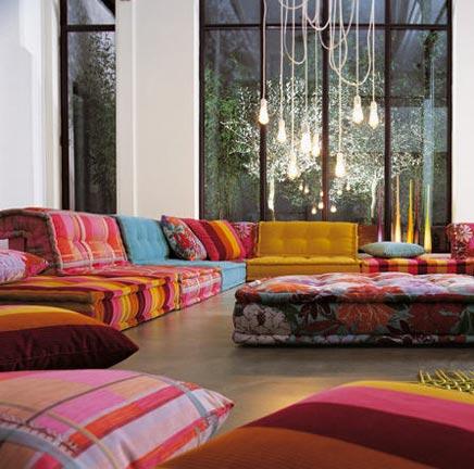 Roche Bobois Modul Bank für Ihre marokkanische raumgestaltung