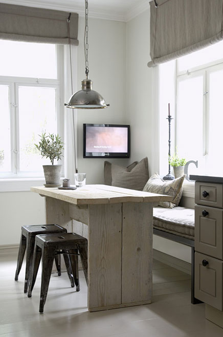 Keuken Eethoek Ikea : Farmhouse Kitchen Breakfast Nook