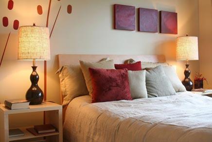 Romantische slaapkamer  Inrichting-huis.com