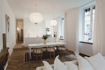 Romantische woninginrichting appartement parijs inrichting - Wohnzimmer romantisch einrichten ...