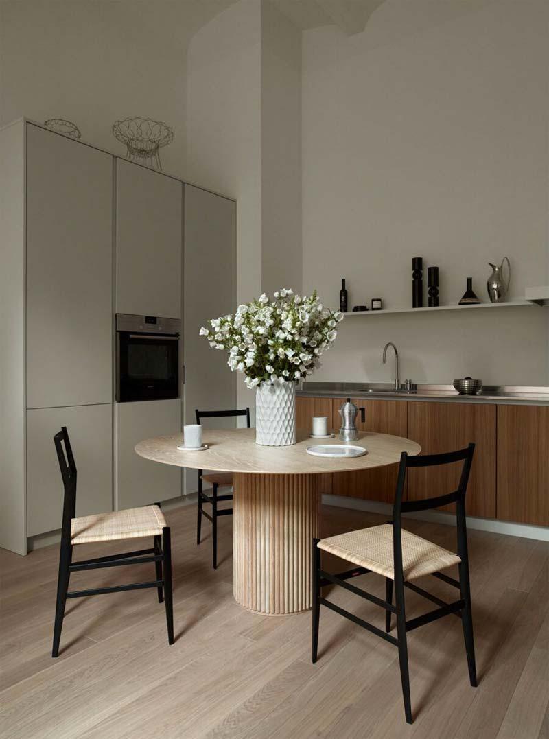 Ronde tafels voor in huis