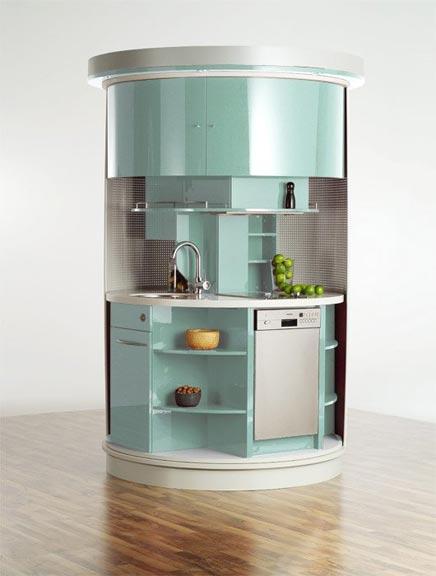 Runder Küche