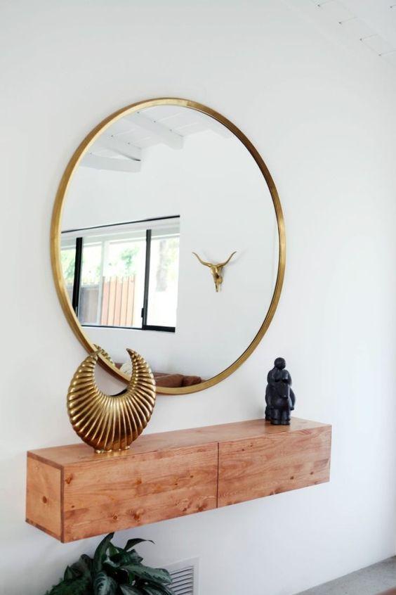 ronde-spiegel-gouden-rand