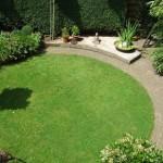 Ronde tuin in Nijmegen
