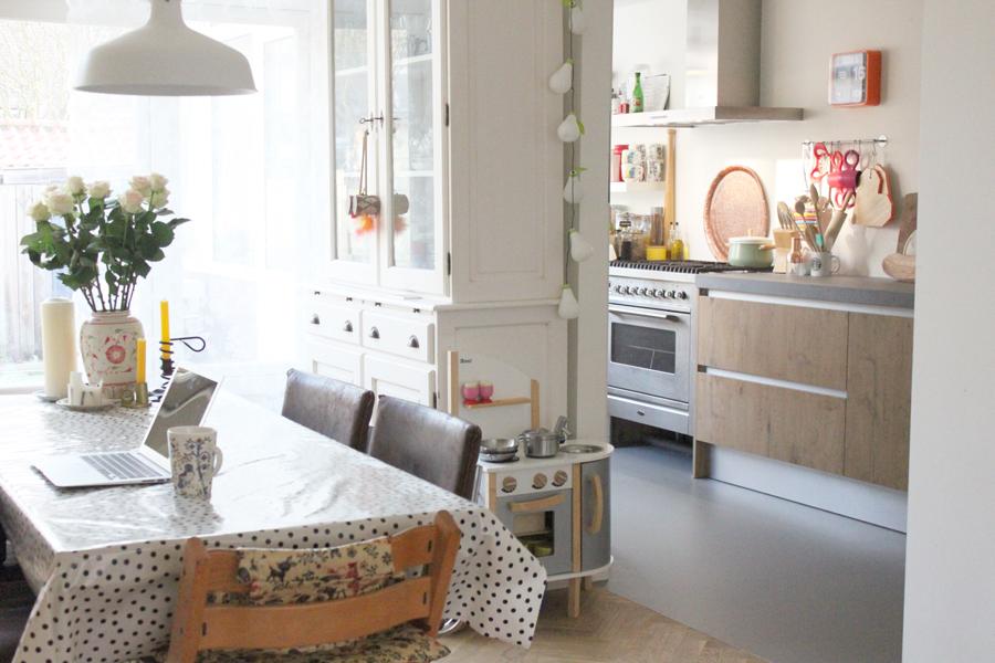 Rosa zielstra en haar huis inrichting - Verf haar woonkamer ...
