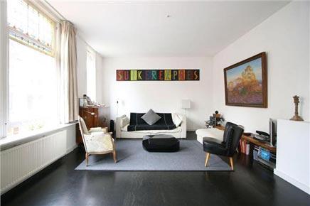 Royaal dubbel bovenhuis te koop aan Kortekade Rotterdam