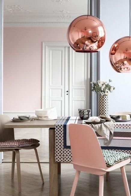10x roze in interieur inrichting for Oud roze accessoires huis