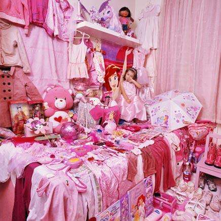 Roze & blauwe kinderkamers  Inrichting-huis.com