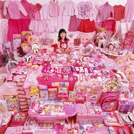 Roze & blauwe kinderkamers