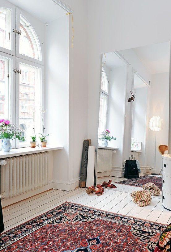 rozenkelim scandinavisch interieur