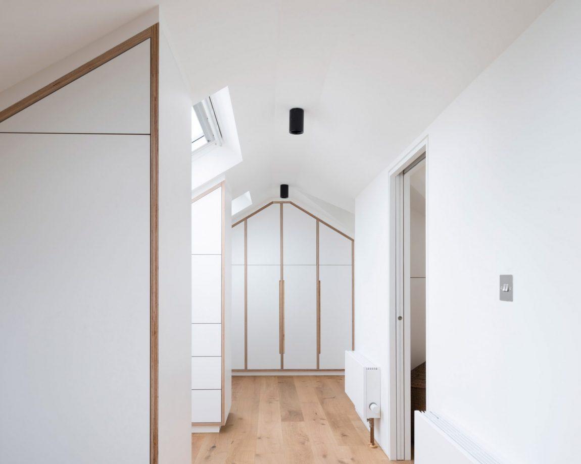 Kleine Ensuite Inloopkast : Ruime inloopkast met master bedroom op zolder inrichting huis