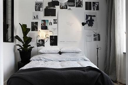 Ruimtelijke slaapkamer naast keuken | Inrichting-huis.com