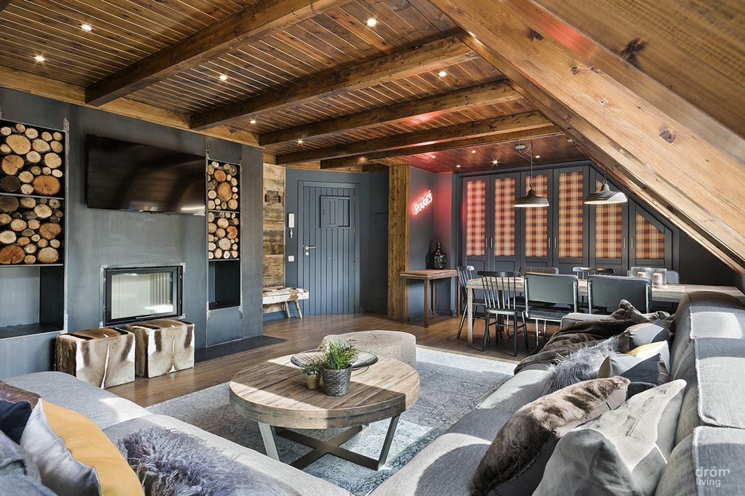 Dit rustieke appartement is erg stijlvol en knus ingericht